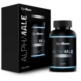 GymBeam AlphaMale TestoBooster unflavored - 120 kaps