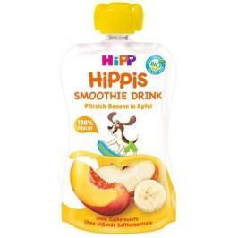 HiPP BIO Smoothie Jablko-Banán-Broskev 120ml