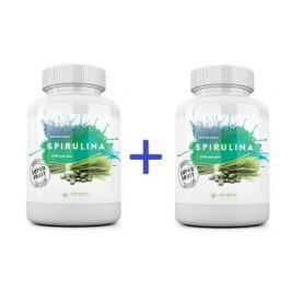 Allnature Spirulina tablety BIO 240 tbl. 1+1 Zdarma*