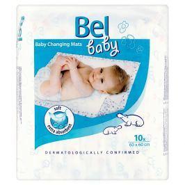 Bel Baby dětské přebalovací podložky 60 x 60 cm 10 ks