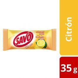 Savo tuhý WC blok, náhradní náplň 35 g, citrón