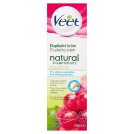 Veet Natural Inspirations depilační krém pro citlivou pokožku 100 ml