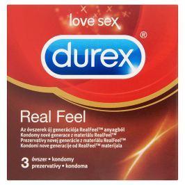 Durex Love Sex RealFeel kondomy 3 ks