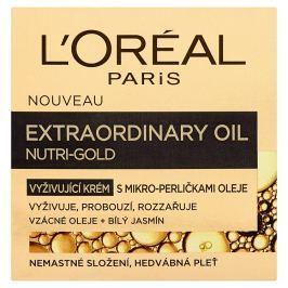 L'Oréal Paris Nutri-Gold, výjimečný krém s mikro-perličkami oleje  50 ml
