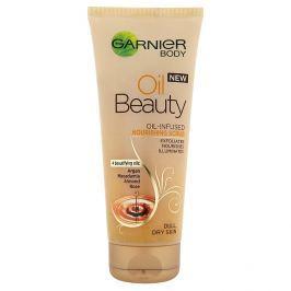 Garnier Body Oil Beauty vyživující olejový tělový peeling 200 ml