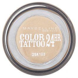 Maybelline oční stíny Color Tattoo 24hr   Eternal Gold 05