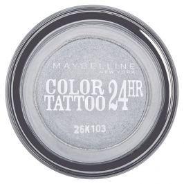 Maybelline oční stíny Color Tattoo 24hr  Eternal Silver 50