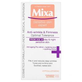 Mixa Sensitive Skin Expert, zpevňující péče proti vráskám  50 ml