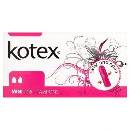 Kotex Mini tampóny 16 ks/bal.