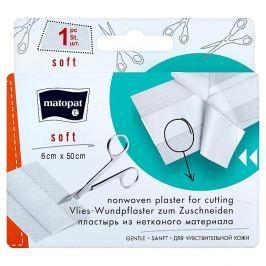 Matopat soft netkaná náplast s polštářkem na stříhání 6 cm x 50 cm 1 ks