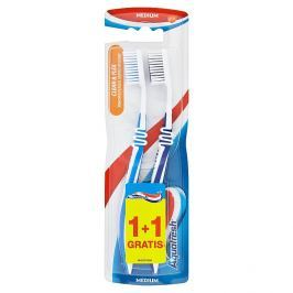 Aquafresh Clean & flex zubní kartáček medium  2 ks