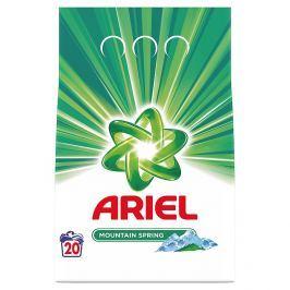 Ariel Mountain Spring prací prášek, 20 praní 1,5 kg