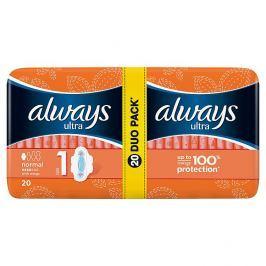 Always Ultra Normal plus hygienické vložky 20 ks/bal.