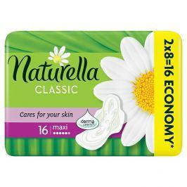 Naturella Camomile Classic maxi hygienické vložky s jemnou vůní 16 ks/bal.