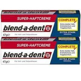 Blend-a-med fixační krém na zubní náhradu 2x 47 g