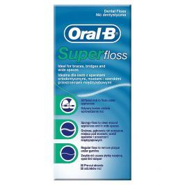 Oral B Super dentální nit  50 m