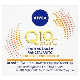 Nivea Q10 Plus, energizující denní krém proti vráskám 50 ml