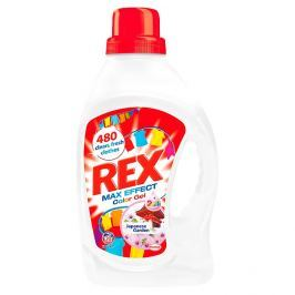 Rex Max Effect prací gel Japanese Garden Color, 20 praní 1,32 l