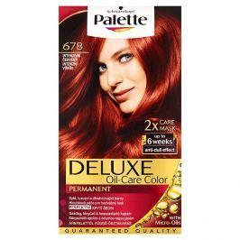 Schwarzkopf Palette Deluxe barva na vlasy Intenzivní Červený 678