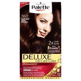 Schwarzkopf Palette Deluxe barva na vlasy Oslnivě Hnědý 760