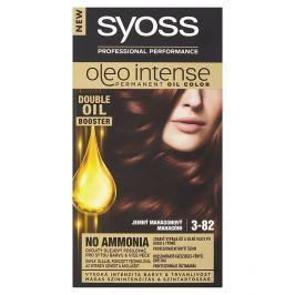 Syoss Oleo Intense barva na vlasy Jemný mahagonový 3-82