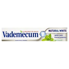 Vademecum Natural White Zubní pasta 75 ml