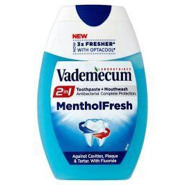 Vademecum 2v1 Menthol Fresh Zubní pasta 75 ml