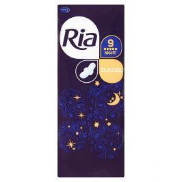 Ria Classic Night dlouhé dámské vložky s křidélky 9 ks/bal.