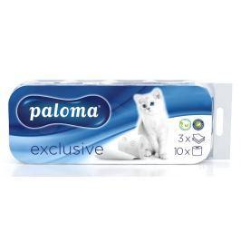 Paloma toaletní papír jemně parfémovaný - 3vrstvý 10 ks