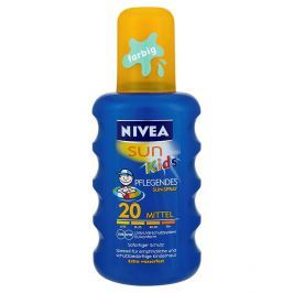 Nivea Sun Kids Barevný sprej na opalování OF 20 200 ml