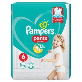 Pampers plenkové kalhotky 6 Extra Large, 16+ kg 19 ks