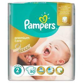 Pampers Premium Care pleny 2 Mini, 3-6 kg 80 ks