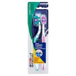 Signal Super Clean měkký zubní kartáček 2 ks