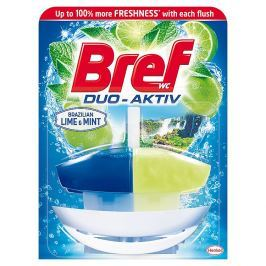 Bref Duo-Aktiv WC blok, Lime & Mint  50 ml