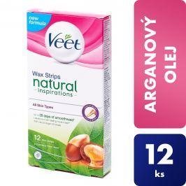 Veet Studené vosk. pásky s Arganovým olejem 12 ks