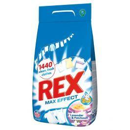 REX Max Effect Lavender&Patchouli prací prášek, 60 praní  4,2 kg