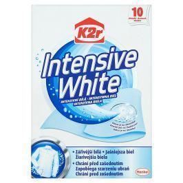 K2r Intenzivní bílá, ubrousky 10 ks