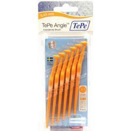 TEPE Mezizubní kartáčky ANGLE 0,45mm oranžový 6 ks