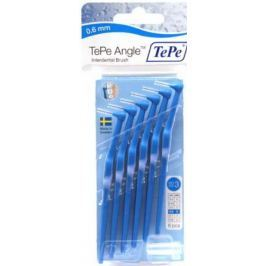 TEPE Mezizubní kartáčky ANGLE 0,6mm modrý 6 ks