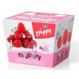 Bella Happy 2 vrstvé dětské papírové kapesníky - malina 80 ks