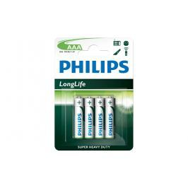 Baterie Philips LongLife AAA 4 ks/bal
