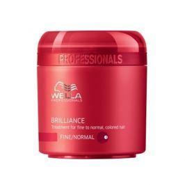 Wella Professional Brilliance maska pro jemné až normální barvené vlasy 150 ml