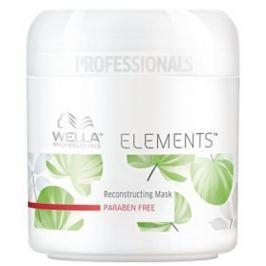 Wella Professional Elements vyživující hydratační maska na vlasy  150 ml