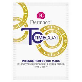 Dermacol Time Coat intenzivně zdokonalující pleťová maska  2x 8 ml