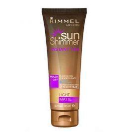 Rimmel Sun Shimmer, samoopalovací make-up 2 v 1 001 Light