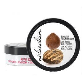 Naturalium Tělové máslo s výtažkem z karité a makadamiovým ořechem  200 ml