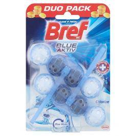 Bref Blue Aktiv WC blok s chlórem 2x 50 g