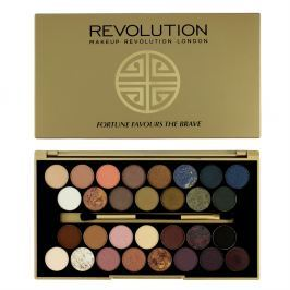 Makeup Revolution limitovaná paletka očních stínů Fortune Favours The Brave