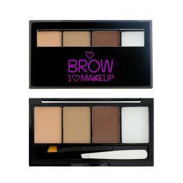 Makeup Revolution set na obočí I Love Brows  Fairest of them all