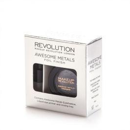 Makeup Revolution sada na tvorbu metalických stínů  Black Diamond